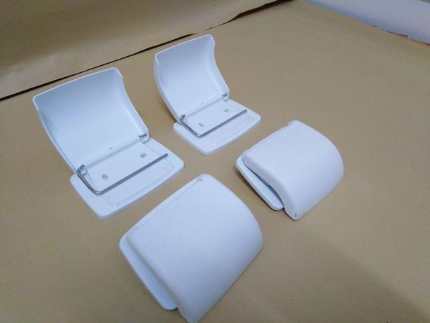 Capas em Plástico para Rolos de Casa de Banho 4 unidades