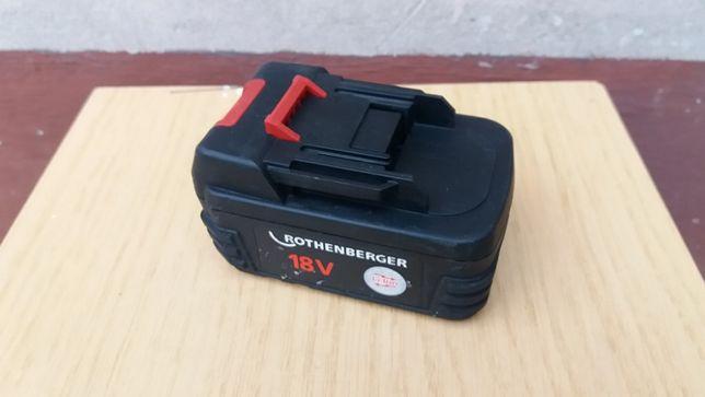 Akumulator Rothenberger 18V 3Ah Li-ion