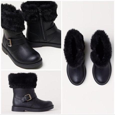 Деми сапожки ботинки H&M. Размер 28 (17,5 см)