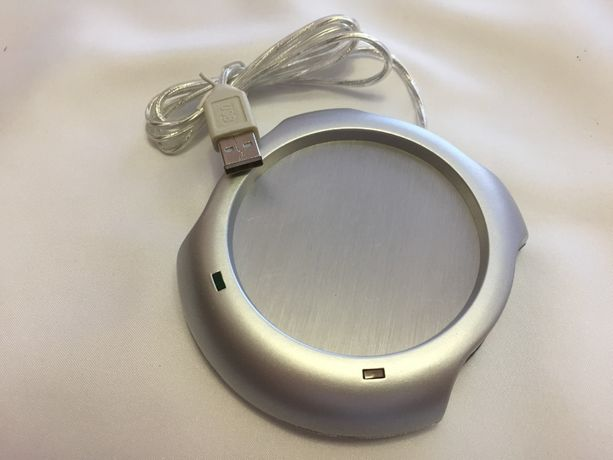 USB-подставка для чашки, с подогревом