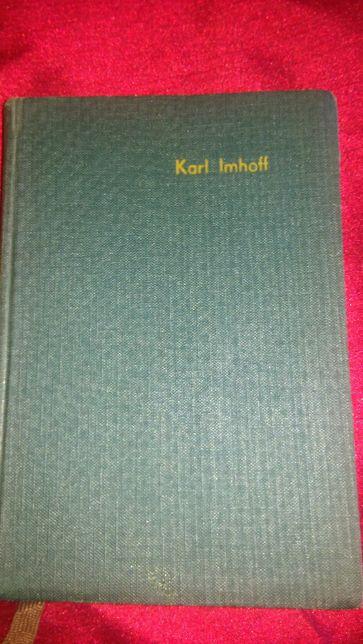 """Książka """"Kanalizacja miast i oczyszczanie ścieków"""". Karl Imhoff"""