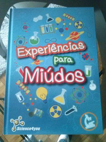 Science4you - Experiências para miúdos, livro, portes incluídos