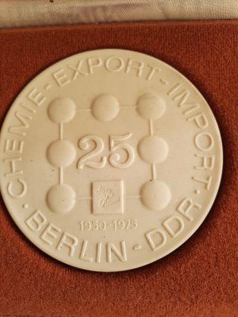 Medal z porcelany - MIŚNIA