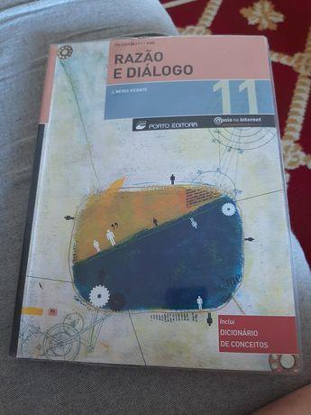 """""""Razão e diálogo """" manual do 11 ano de filosofia novo"""