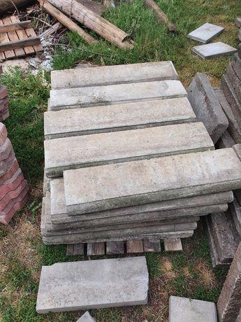 Obrzeża betonowe 75x19