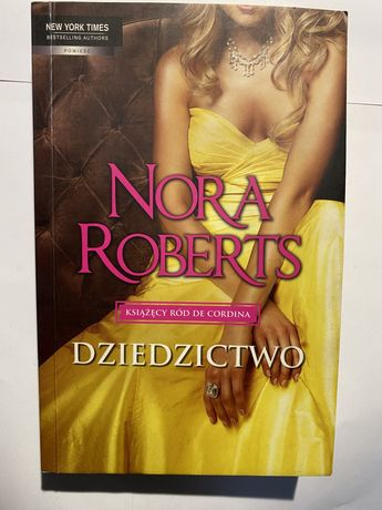 Dziedzictwo Nora Roberts Książęcy Ród De Cordina