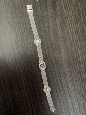 Продам Срібний браслет Pandora Reflexions 17 розмір