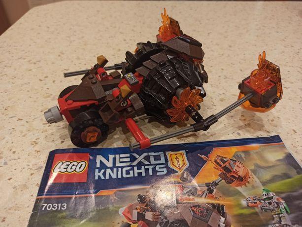 LEGO 70313 Nexo Knights - Lawowy rozłupywacz Moltora