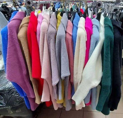 Płaszcz Alpaka różne kolory
