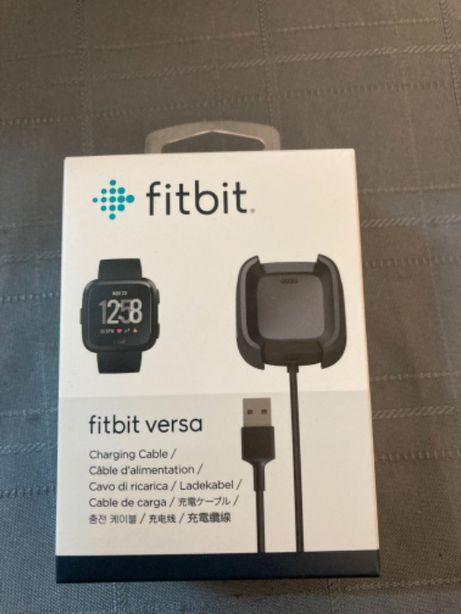 Fitbit versa carregador