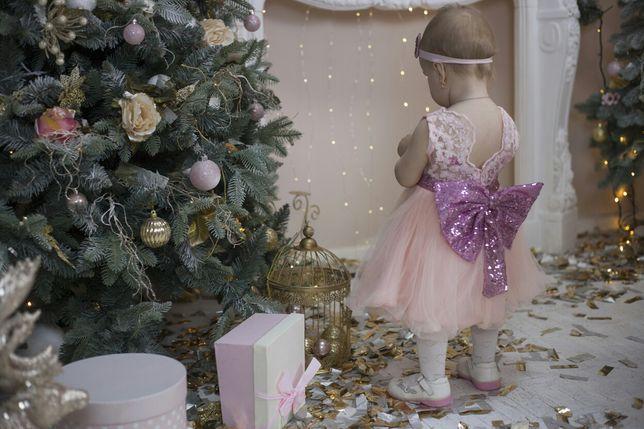 Платье на 1 год годик