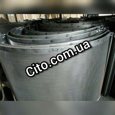 Решета Сепараторов БЦС 25/50/100,МЗП 50. Полный ассортимент .