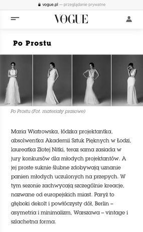 Suknia ślubna PoProstu Paryż