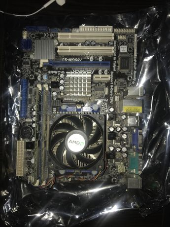 Комплект из ASRock 785gm-s3 + Athlon x2 + 4 gb DDR3 1333 + GT 430