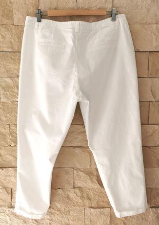 Quiosque r. 44 damskie białe spodnie chinos