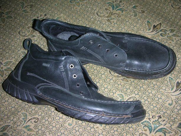Ботинки Ecco Gore-Tex на шерстяной подкладке (р. 46) или обмен