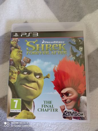PS3 gra Shrek rarytas