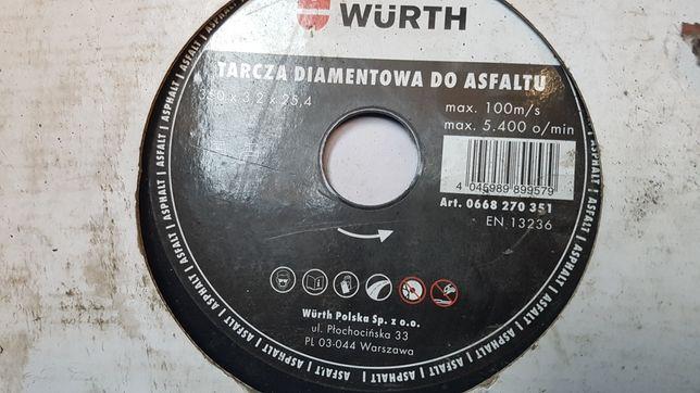 Wurth tarcza diamentowa 350 beton asfalt