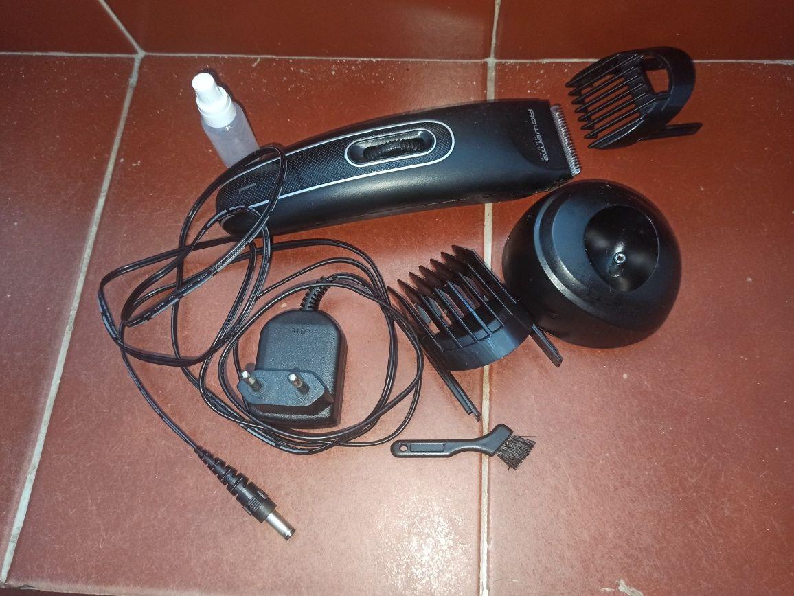 Máquina de cortar barba e cabelo avariada
