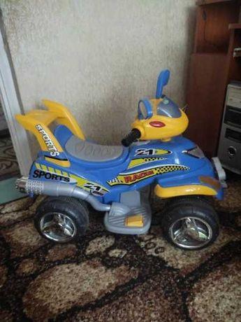 Детский электромобиль (квадроцикл)