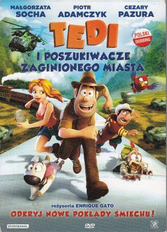 Tedi i poszukiwacze zaginionego miasta DVD