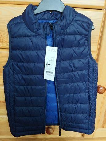 sprzedam nową kurtkę bez rękawów-128cm