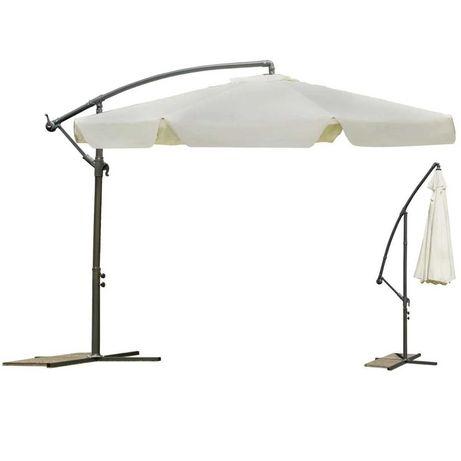 Зонт садовый Plonos Beige 3,5 м