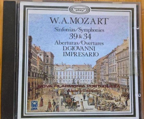 CD Mozart - Sinfonias 39 & 34
