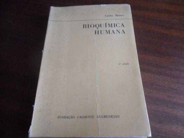 """Bioquímica Humana"" Carlos Manso"