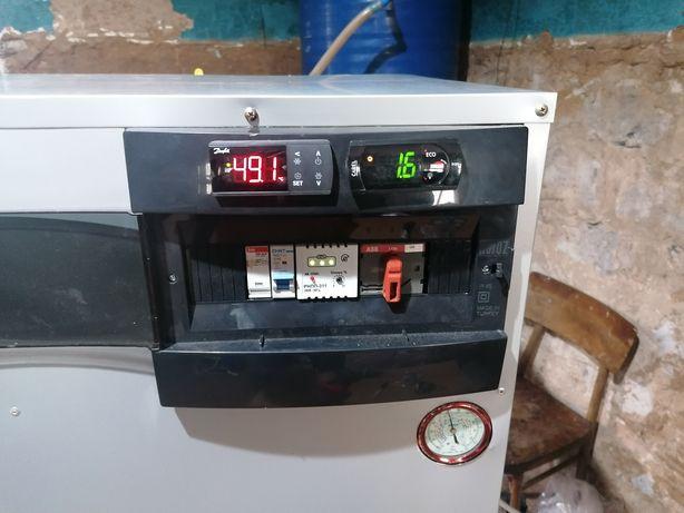 Тепловой насос на 15 кВт вода-вода
