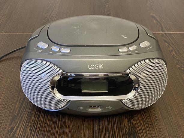 Radioodtwarzacz Boombox LOGIK LCDBM12 RADIO/CD/MP