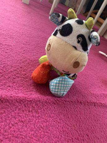 Krowa zabawka dla dziecka zawieszka
