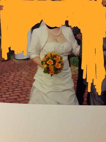 sukienka ślubna rozmiar 40-42