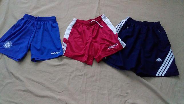 Шорты спортивные подростковые-Uhlsport 14/164;Macron-ХXS;adidas-14/1