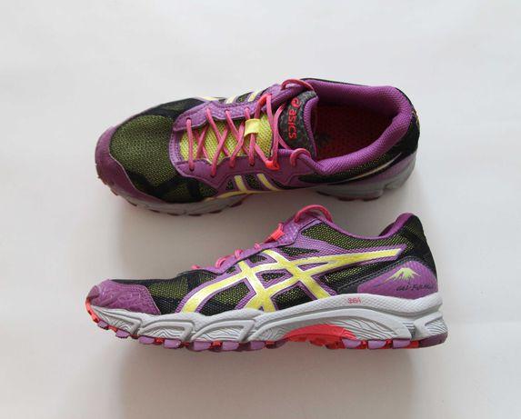 Asics gel fuji attack 2 - sportowe buty w stanie idealnym