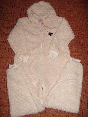 piżama pajac biały LOVE TO LOUNGE