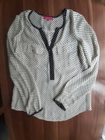 Bluzeczka,koszula  w groszki