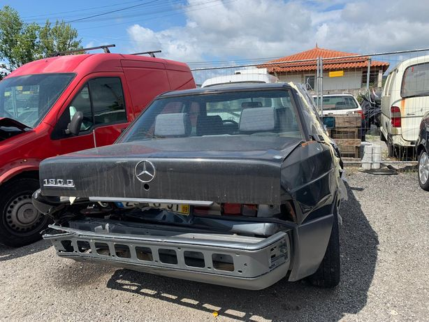 Mercedes 190d para peças