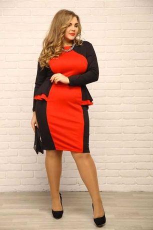 Платье. Размер 56-58