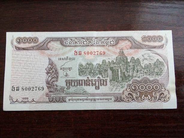 Banknot 1000 riels Kambodża