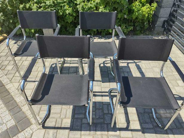 Krzesła lata 80, 4szt. Bauhaus MOD CARLO