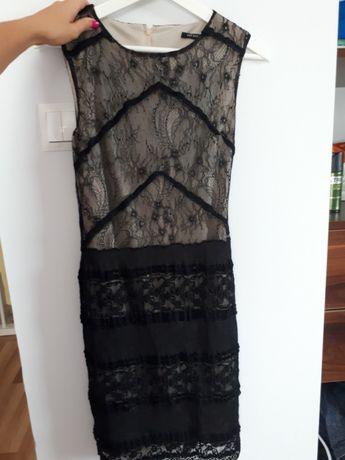 Sukienka orsay 38 m koronla czarna