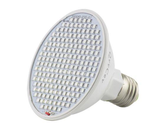 Фитолампа 200 LED 6Вт E27
