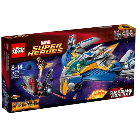 Lego Super Heroes 76021 - Спасение космического корабля Милано - NEW