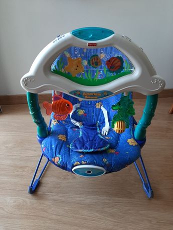 Espreguiçadeira bebé com música e vibração