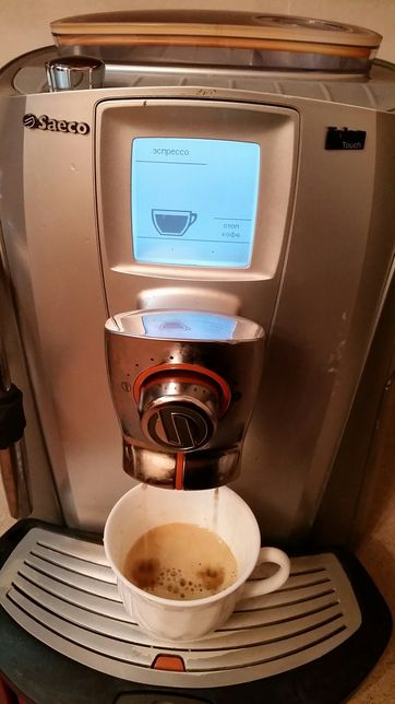 Кавоварка, кофеварка, кофемашина SAECO