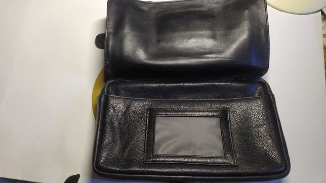 Кожаная мужская сумка Boss барсетка