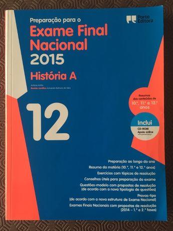 """Livro """"Preparação para o Exame Nacional de História A"""" (12º ano)"""