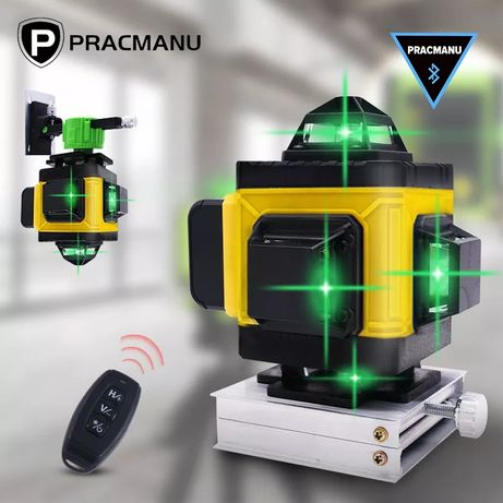 Лазерный уровень Pracmanu LD515 (Hilda) 4D 16 линий лазерний рівень