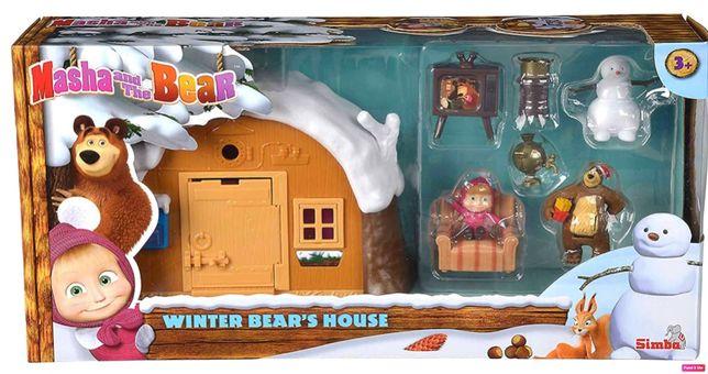 Masha e o urso casa com neve (novo e selado) canal panda